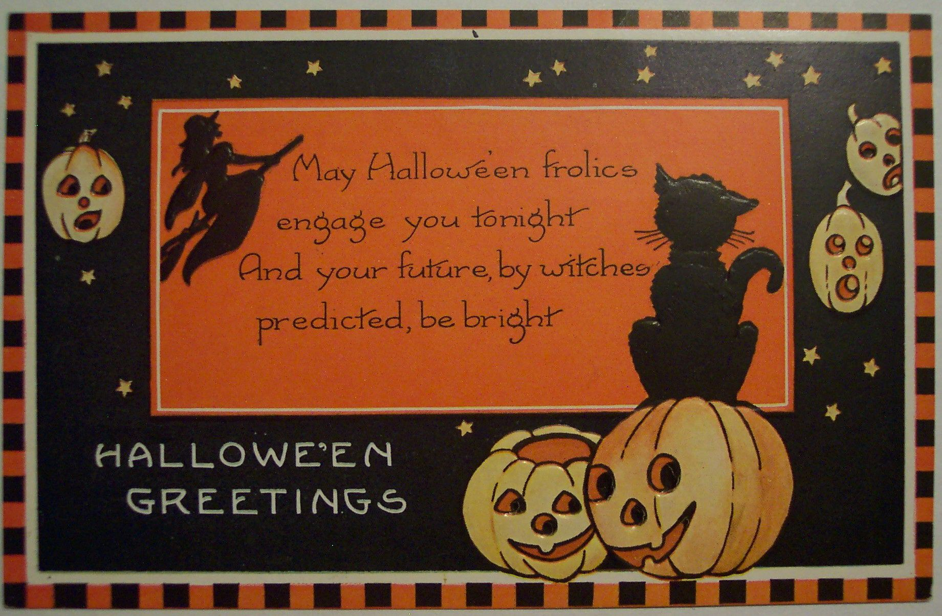 FREE Vintage Halloween I Halloween